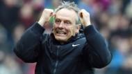 Endlich wieder gewonnen: Freiburg-Trainer Streich