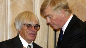 Ecclestone und Mosley rauchen die Friedenspfeife