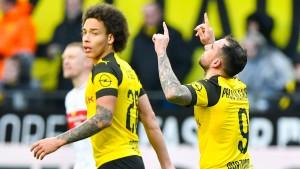 Dortmund gewinnt mit Ach und Krach