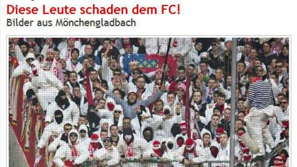 Köln verteidigt Foto-Fahndung nach Derby-Tätern