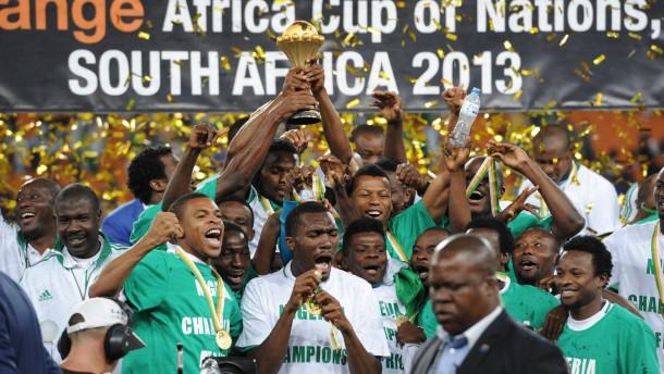 Am Ziel der Träume: Nigeria gewinnt den Afrika-Cup