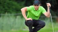Fängt klein an, will hoch hinaus: Marcel Schneider glaubt an seine Chance im Wettstreit mit der Golf-Elite