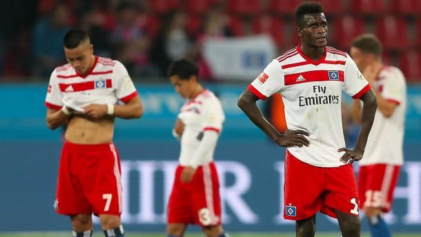 Der erwartete Absturz des Hamburger SV