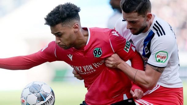 HSV-Ausgleich in 96. Minute in Hannover