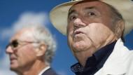 Blatter und Beckenbauer reden nicht mehr