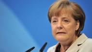 Die Kanzlerin blieb von innerparteilicher Kritik bislang verschont