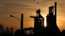Im Schatten: Auch Thyssen-Krupp steckt in einer seiner schwersten Krisen