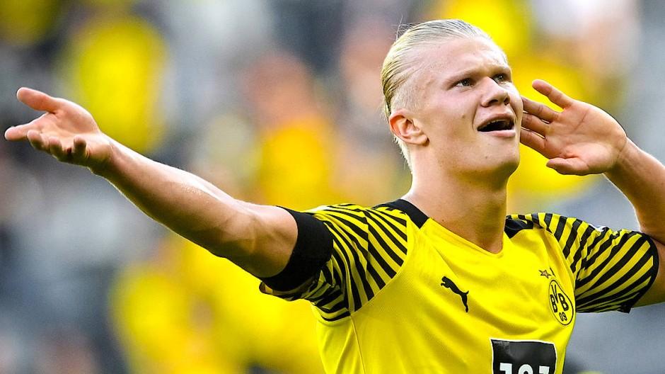 Hört, hört: Erling Haaland sorgt für großen Jubel bei Dortmunds Fansx.