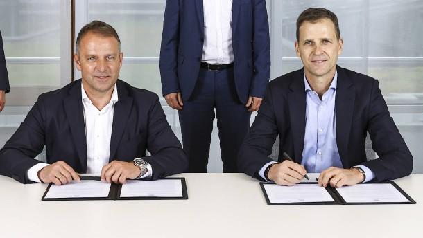 DFB-Wunschkandidat Flick wird neuer Bundestrainer