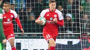 Mainz 05 verdirbt Werder das Weihnachtsfest