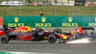 Vettel verdirbt sich den Sonntag: er verschuldet den Crash gegen Verstappen