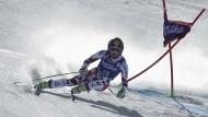 Gute Linie im Frühlingsschnee: Anna Fenninger greift im Gesamt-Weltcup an
