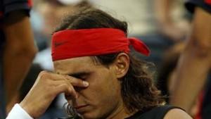 Nadal ausgeschieden, Scharapowa weiter