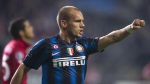 Sneijder steckt noch im Inter-Loch