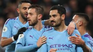 Manchester City gewinnt das Topspiel