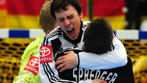 Deutsche Handballer mit frischem Mut