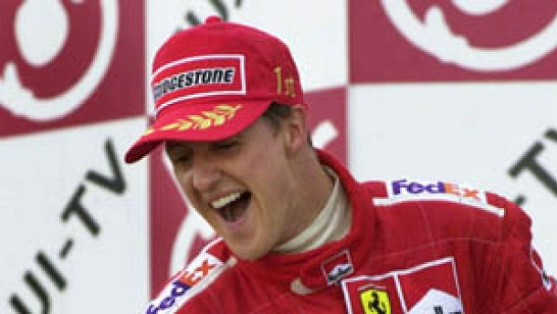 Schumacher, Michael Champagner