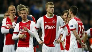 Ajax ist noch zu jung für den Titel