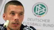 Sprachgewandt: Podolski interessiert sich für Reime