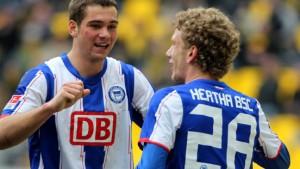 Hertha siegt mit 5:0 - Remis in Ostwestfalen
