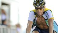 Sieht seine Chancen auf den Toursieg bei eins zu drei: Lance Armstrong