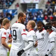 Zuversicht durch Tore: Eintracht Frankfurt nach dem Sieg in Hoffenheim.