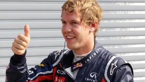 Vettel überrascht sich in Monza selbst
