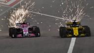 Zündende Ideen für die Umwelt: Vielleicht wird in der Formel 1 demnächst auch die Reibungshitze in Energie umgewandelt.