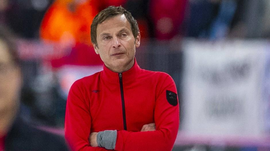 Bietet der Pechstein-Große-Allianz die Stirn: Bundestrainer Erik Bouwman.