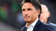 """""""Vorsicht, es ist erst Halbzeit"""": Wolfsburgs Trainer Bruno Labbadia."""