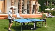 Tischtennis am Lago Maggiore