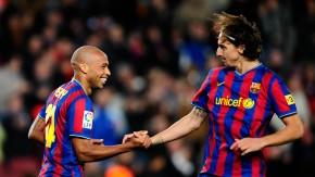 Barcelona verließ Ibrahimovic nach nur einem Jahr wieder - dann trat er kräftig nach
