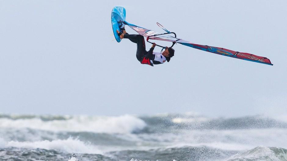 Diesmal klappte es nicht mit dem Titel für den vierfachen Surf-Weltmeister Philip Köster.