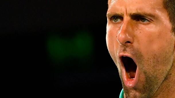 Djokovic beendet das Tennis-Märchen in Melbourne