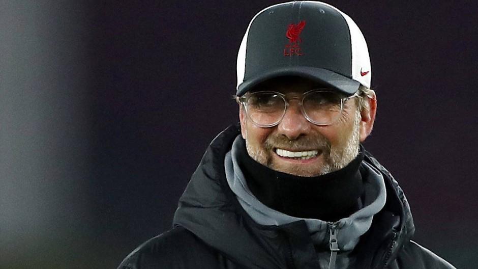 Jürgen Klopp hat mit dem FC Liverpool mal wieder Grund zur Freude.