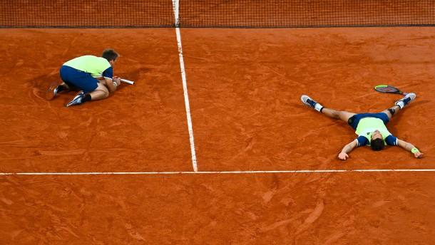 Der doppelte deutsche French-Open-Triumph