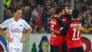 HSV ratlos: In Freiburg können die Hamburger nur zusehen