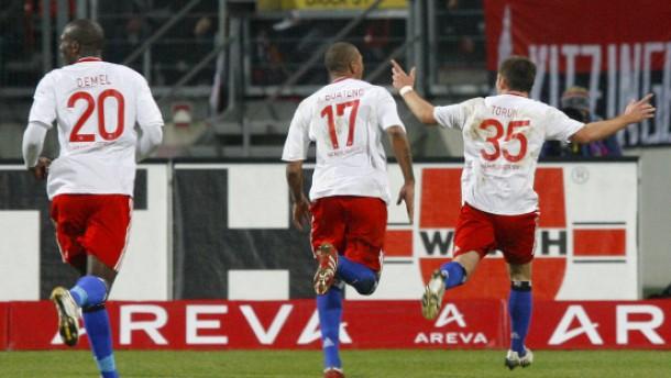 Hamburger SV zurück im Glück