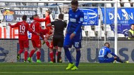 Hannover hält mit dem VfB mit