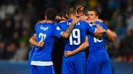 """Gewonnen, und doch verloren: Italiens """"Azzurrini"""""""