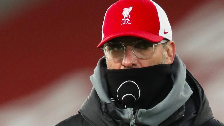 Das ist ein Tiefpunkt: Liverpools Trainer Jürgen Klopp