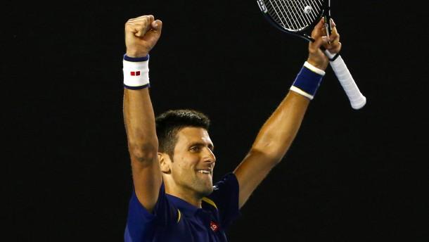 Djokovic ist einfach nicht aufzuhalten