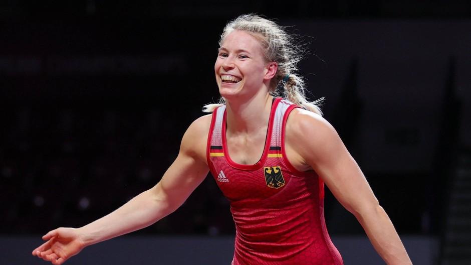 Glücklich mit Bronze: Aline Rotter-Focken