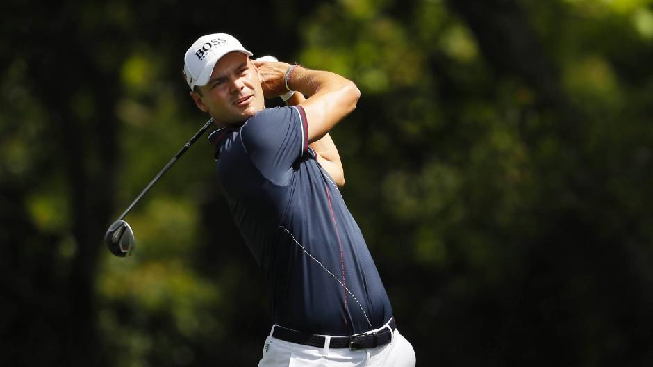 Hofft auf den richtigen Schwung: Martin Kaymer ist in Augusta durchwachsen gestartet.