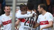 Erstaunliche Erfolgswelle: der VfB Stuttgart gewinnt sein fünftes Spiel in Serie