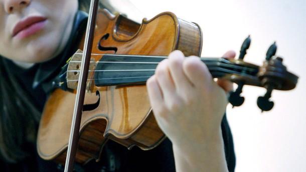 7,6 Millionen Dollar kostet die Stradivari der japanischen Star-Geigerin Yuki Manuela Janke - nun so