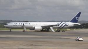 Air-France-Maschine muss nach Bombenalarm in Kenia notlanden