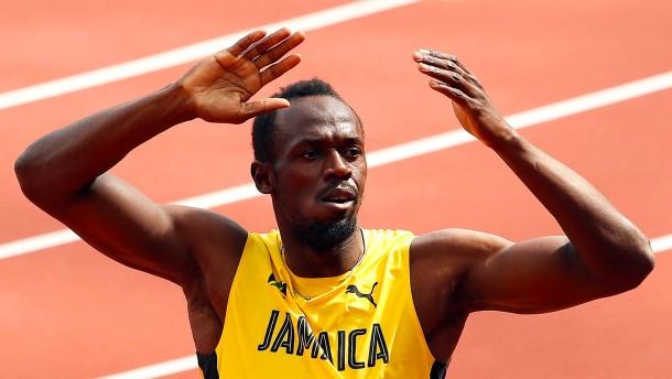 Bolt rennt mit Jamaika ins Finale