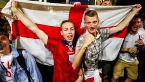 England winkt Einzug ins Achtelfinale