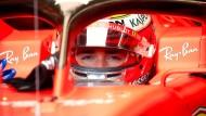 """""""Mein Traum ist wahr geworden"""": Charles Leclerc fährt für Ferrari auf dem Stadtkurs seiner Heimat in Monaco."""